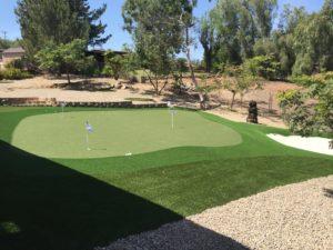 Backyard Putting Green in San Diego