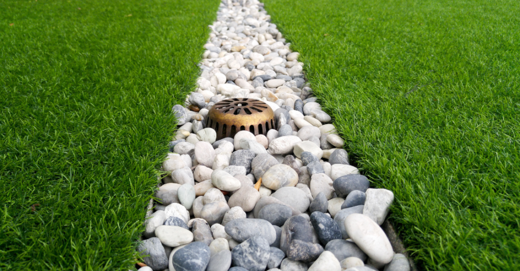 artificial turf with drainage